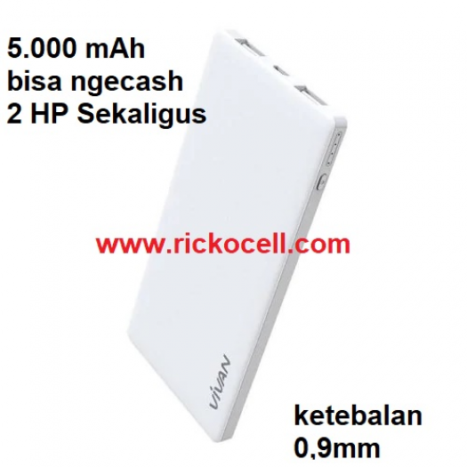 Power Bank Vivan 5.000 mAh