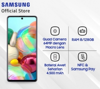 Samsung Galaxy A71 - 8 GB/128 GB
